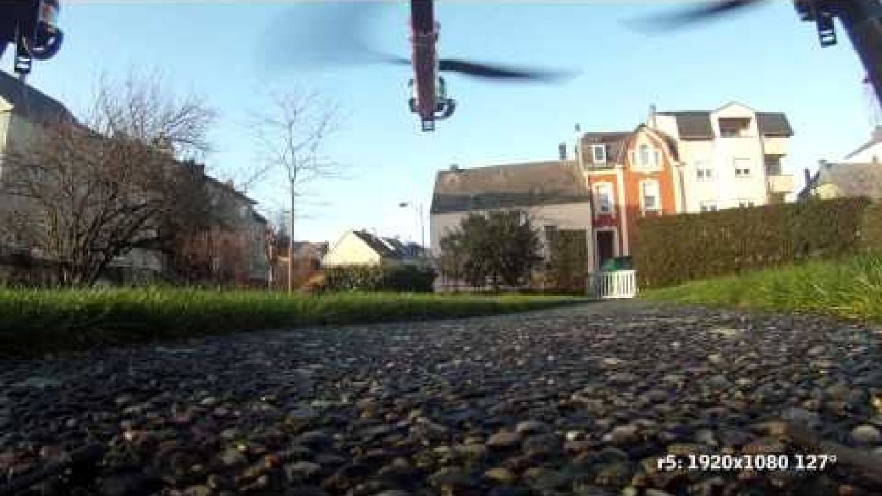 GoPro HD 1st Test on Oktokopter