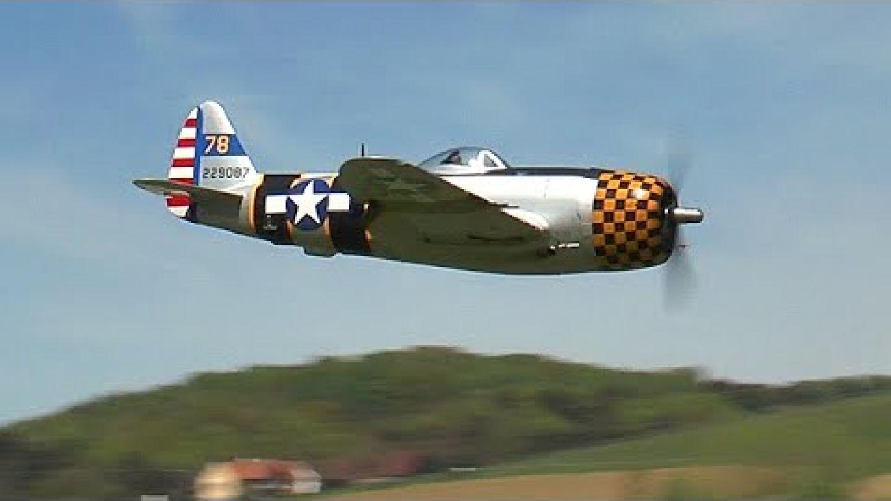 Rc P-47 Thunderbolt Moki 250cc