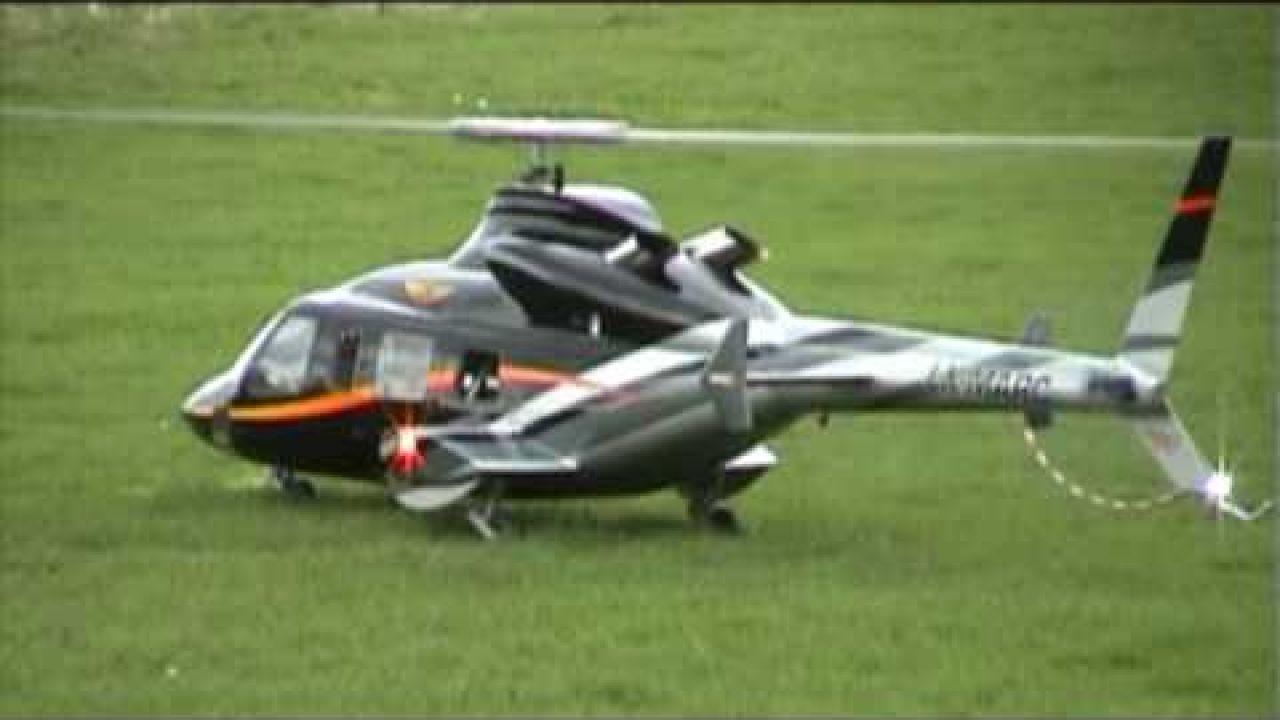 Bell 430 LX-MARC 1st Flight