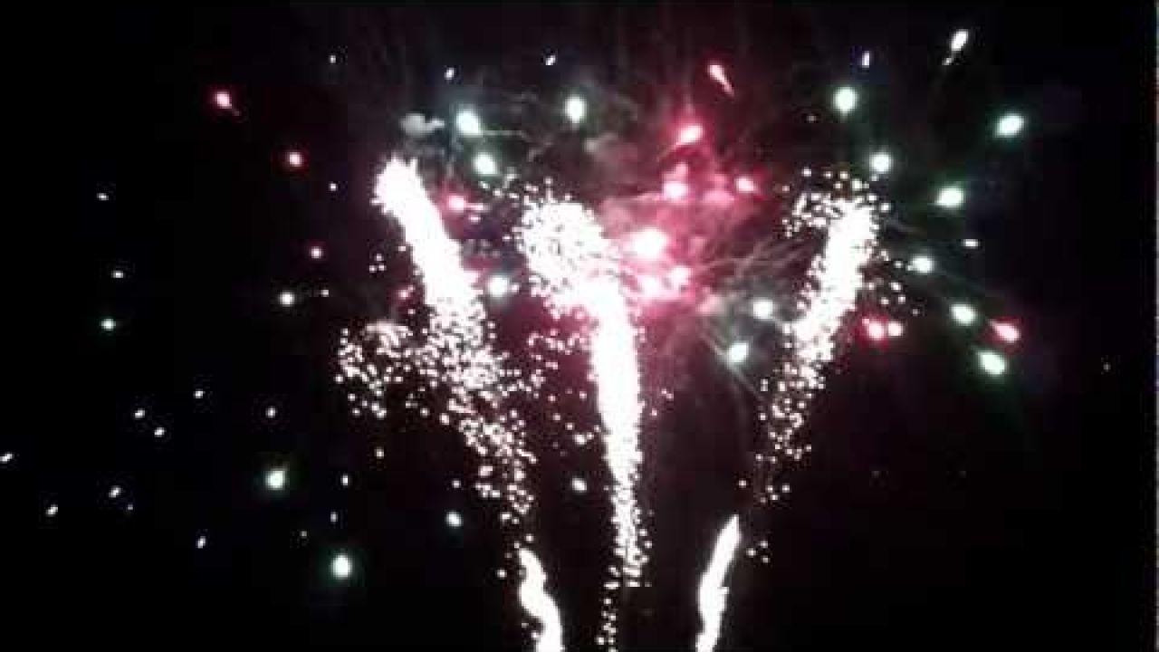 Jetpower 2012 Die Nacht der Feuer Abschlussfeuerwerk