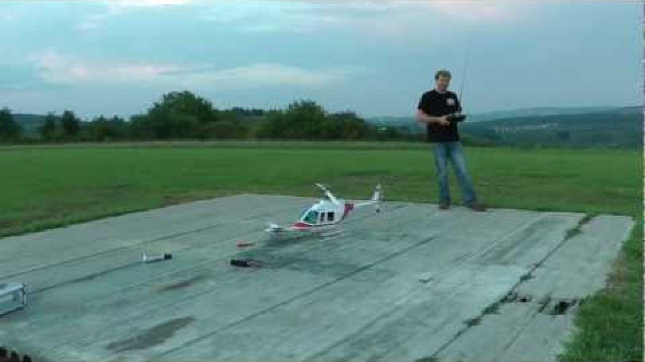 Bell JetRanger Plane Drop